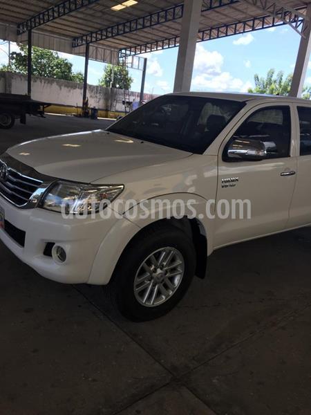 Toyota Hilux Doble Cabina 4.0L 4x4 Aut usado (2013) color Blanco precio BoF34.000