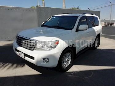 Foto venta Auto usado Toyota Land Cruiser 5.7L 4x4 (2013) color Blanco precio $589,000