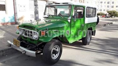 Toyota Land Cruiser  70 Cabinado Largo usado (1978) color Verde precio $22.000.000