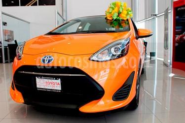 foto Toyota Prius C 1.5L nuevo color Naranja precio $329,500