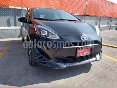 Toyota Prius C 1.5L usado (2018) color Negro precio $270,000