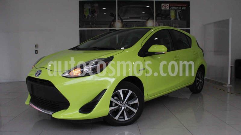Toyota Prius C 1.5L usado (2020) color Verde precio $320,000