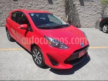 Toyota Prius C 1.5L usado (2019) color Rojo precio $278,000