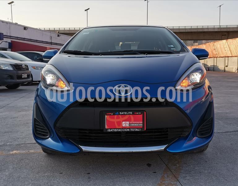 Toyota Prius C 1.5L usado (2020) color Azul Metalico precio $289,000