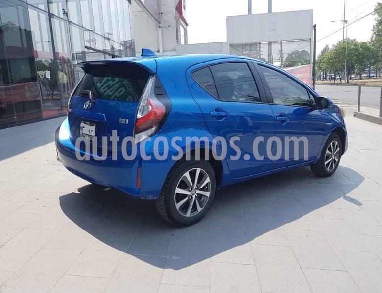 Toyota Prius C 1.5L usado (2020) color Azul precio $340,000