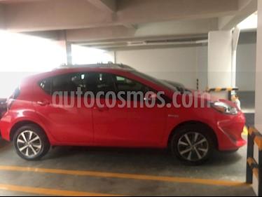 Toyota Prius C 1.5L usado (2018) color Rojo precio $280,000