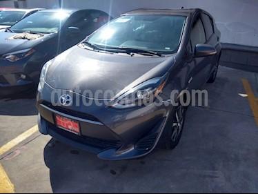 Toyota Prius C 1.5L usado (2018) color Gris Metalico precio $299,000