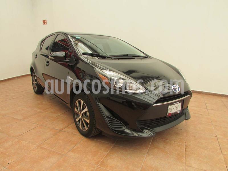 Toyota Prius C 1.5L usado (2019) color Negro precio $315,000