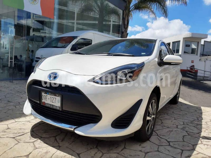 Toyota Prius C 1.5L usado (2020) color Blanco precio $335,000