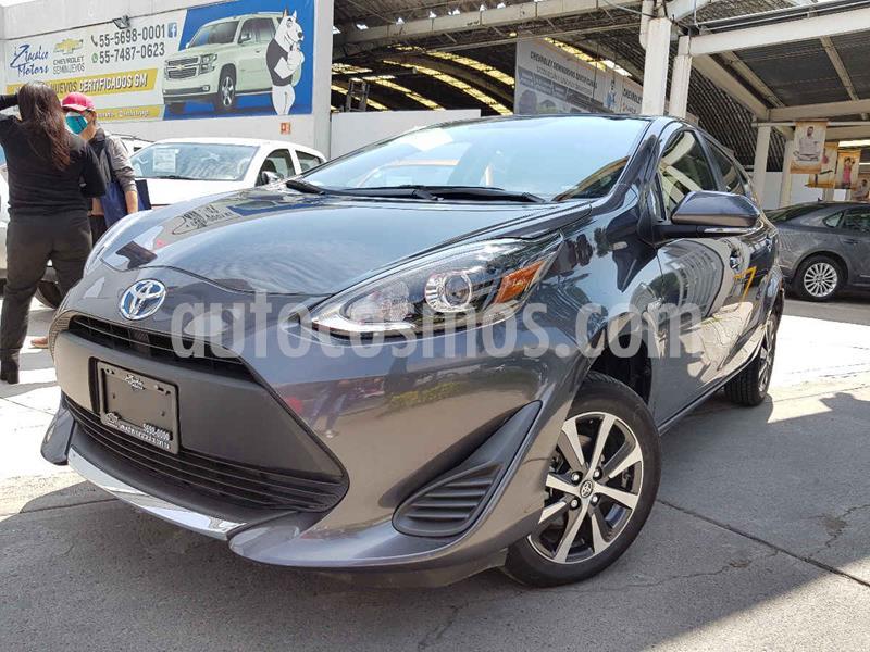 Toyota Prius C 1.5L usado (2020) color Gris precio $325,000
