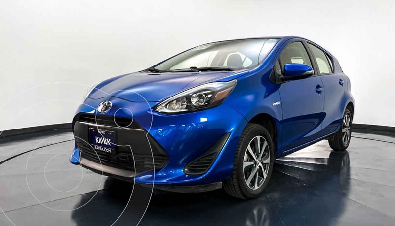 Toyota Prius C 1.5L usado (2018) color Azul precio $277,999