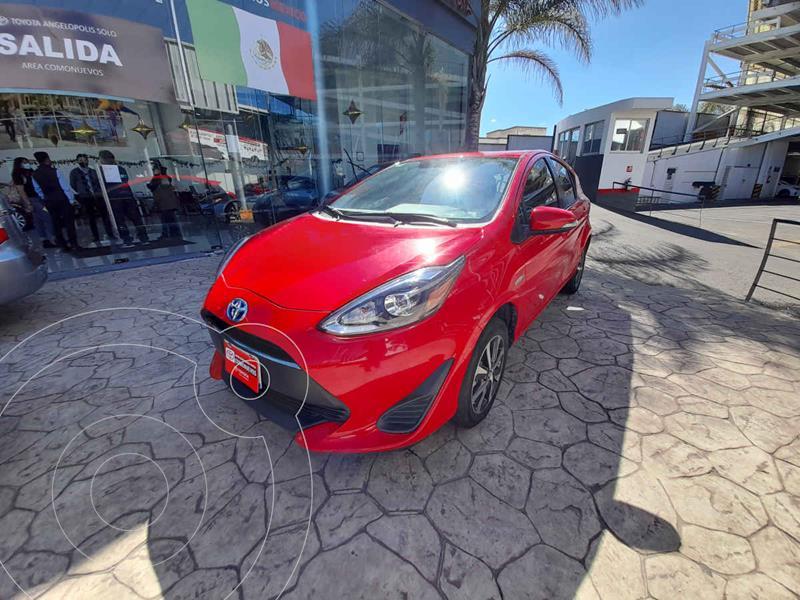 Toyota Prius C 1.5L usado (2018) color Rojo precio $265,000