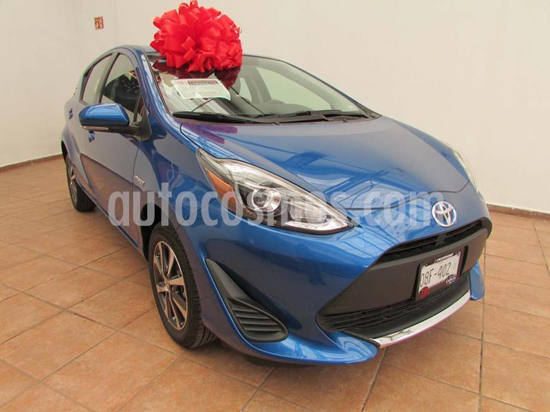 Toyota Prius C 1.5L usado (2020) color Azul precio $330,000