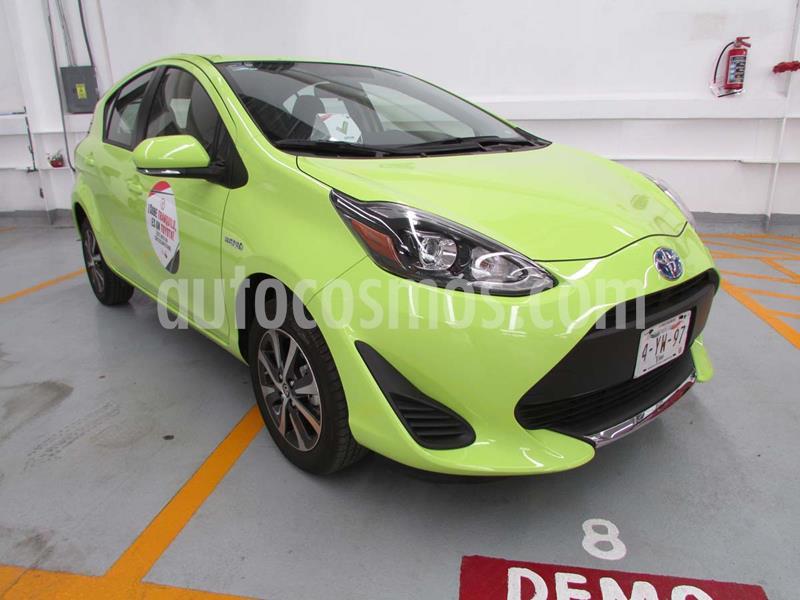 Toyota Prius C 1.5L usado (2020) color Verde precio $330,300