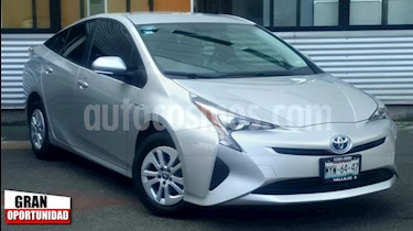Foto venta Auto usado Toyota Prius 5p Base Hibrido L4/1.8 Aut (2016) color Plata precio $278,000