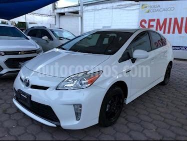Foto Toyota Prius 5p Base Hibrido L4/1.8 Aut usado (2015) color Blanco precio $235,000