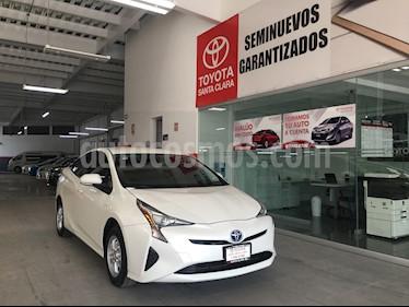 Foto venta Auto usado Toyota Prius 5p Premium SR Hibrido L4/1.8 Aut (2017) color Blanco precio $350,000
