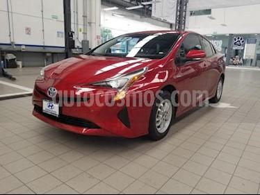 Foto venta Auto usado Toyota Prius 5p Premium SR Hibrido L4/1.8 Aut (2017) color Rojo precio $330,000