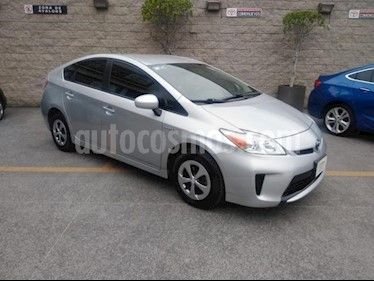Toyota Prius 5P HB BASE HIBRIDO TA CD R-15 usado (2015) color Plata precio $195,000