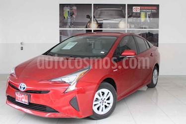 Toyota Prius 5p Base Hibrido L4/1.8 Aut usado (2016) color Rojo precio $250,000