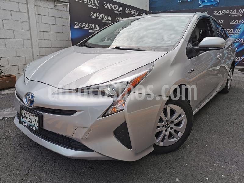 Toyota Prius Premium SR usado (2017) color Plata precio $305,000