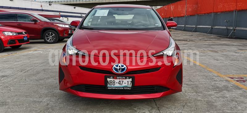 Toyota Prius BASE usado (2017) color Rojo precio $269,000