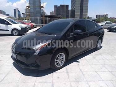 Toyota Prius 5p Base Hibrido L4/1.8 Aut usado (2017) color Negro precio $245,000