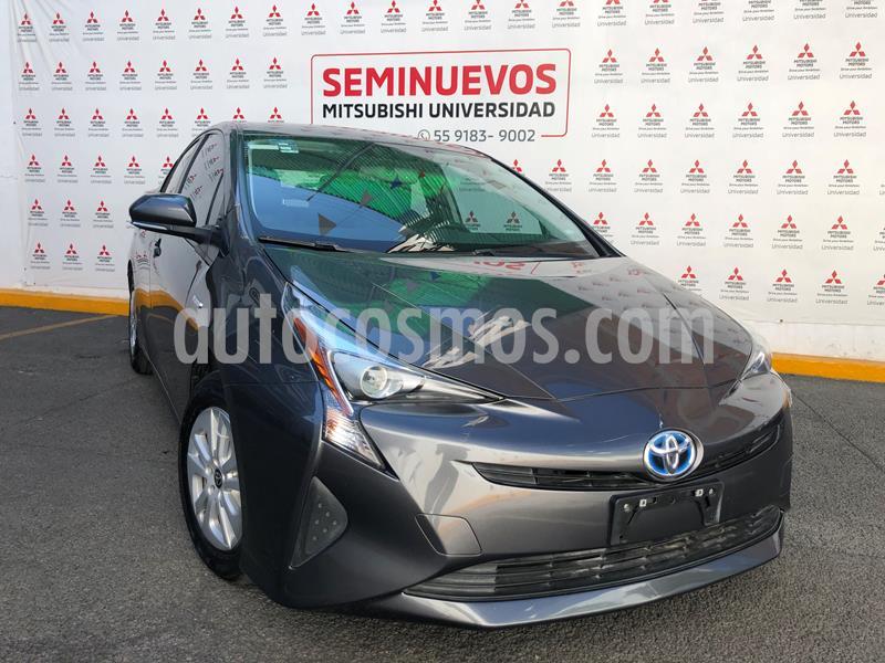 Toyota Prius Premium usado (2017) color Gris precio $280,000