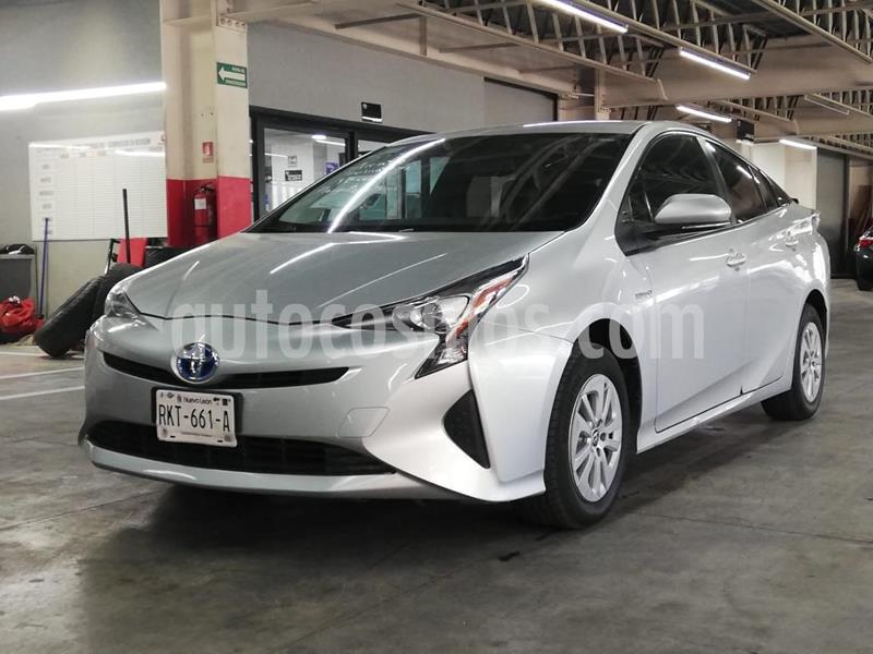 Toyota Prius Premium SR usado (2016) color Plata Dorado precio $238,500