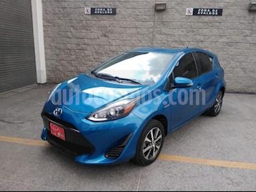 Toyota Prius 5P HB C HIBRIDO TA usado (2018) color Azul precio $265,000