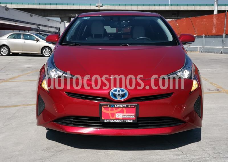 Toyota Prius Premium usado (2016) color Rojo precio $265,000