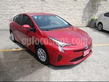 Toyota Prius 5P HB BASE HIBRIDO TA usado (2017) color Rojo precio $275,000