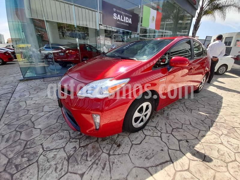Toyota Prius BASE usado (2015) color Rojo precio $215,000