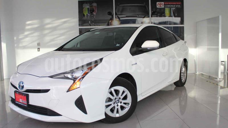 Toyota Prius Premium SR usado (2017) color Blanco precio $295,000