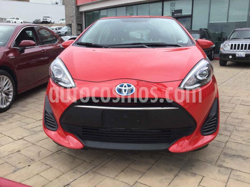 Toyota Prius 1.8L CVT usado (2019) color Rojo precio $317,000