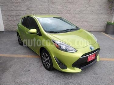Toyota Prius 5P HB C HIBRIDO TA usado (2019) color Verde precio $299,000