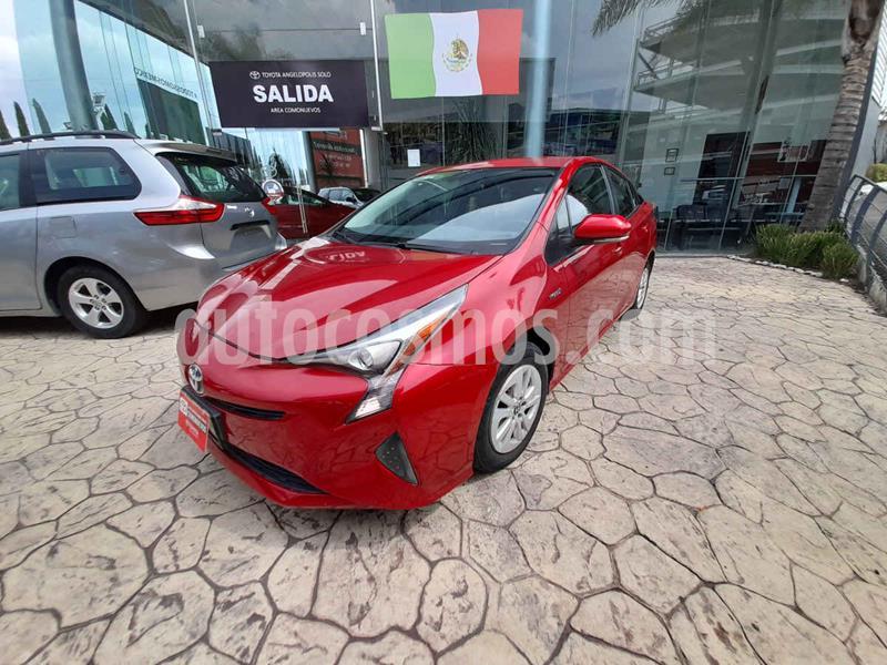 Toyota Prius Premium SR usado (2016) color Rojo precio $285,000