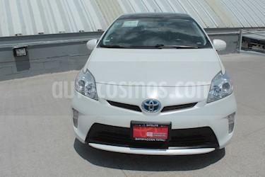 Toyota Prius Premium usado (2015) color Blanco precio $209,000