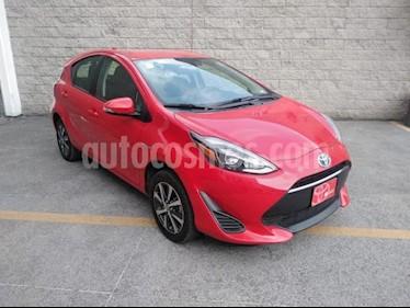 Toyota Prius 5P HB C HIBRIDO TA usado (2018) color Rojo precio $265,000