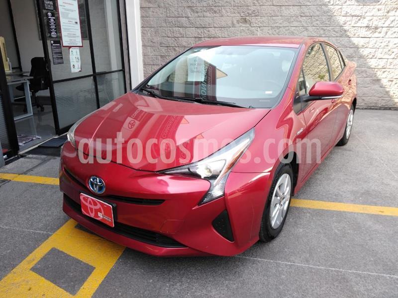 Toyota Prius BASE usado (2018) color Rojo precio $305,000