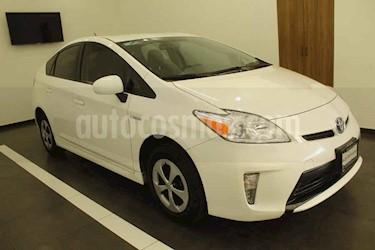Toyota Prius 5p Base Hibrido L4/1.8 Aut usado (2015) color Blanco precio $215,000