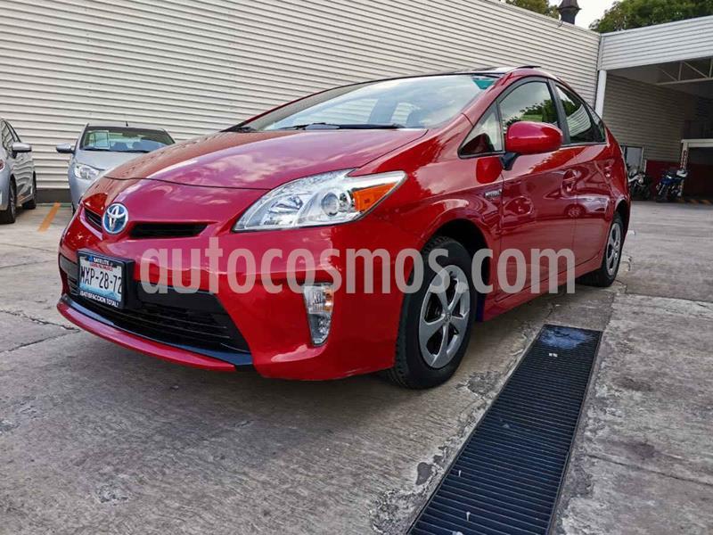 Toyota Prius Premium SR usado (2015) color Rojo precio $239,000