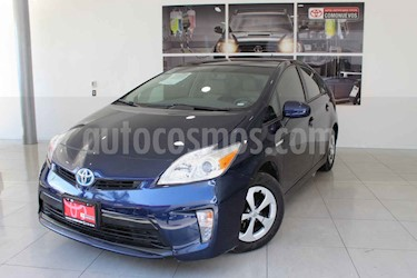 Toyota Prius 5p Premium SR Hibrido L4/1.8 Aut usado (2015) color Azul precio $250,000