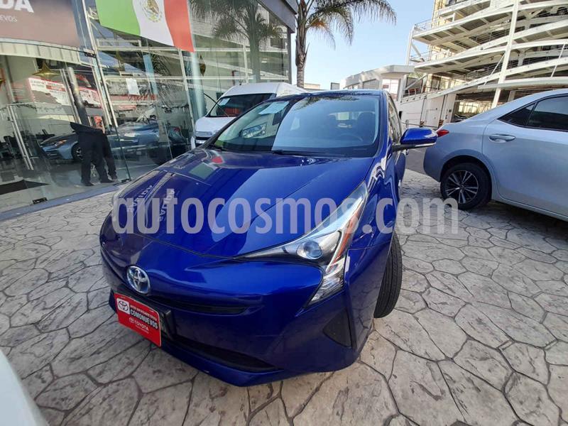 Toyota Prius Premium SR usado (2017) color Azul precio $292,000