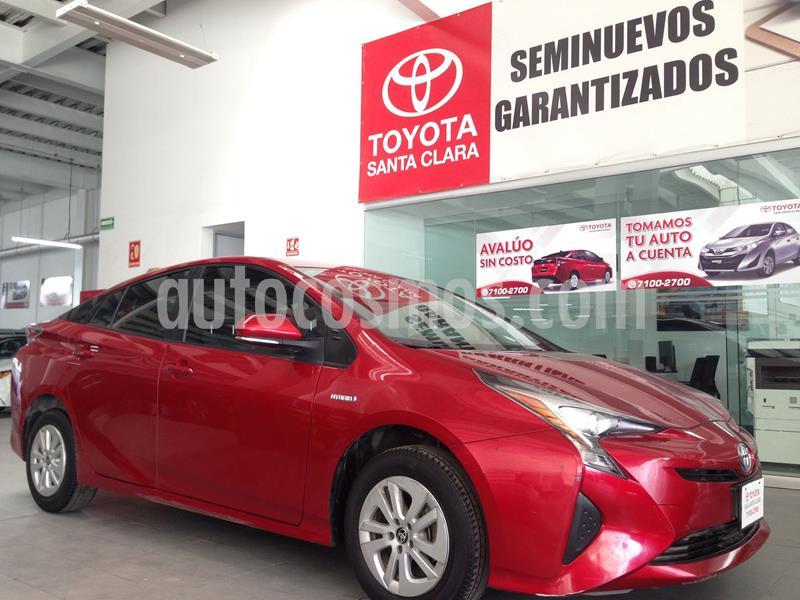 Toyota Prius BASE usado (2017) color Rojo precio $242,000