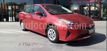 Toyota Prius 5p Base Hibrido L4/1.8 Aut usado (2016) color Rojo precio $249,000
