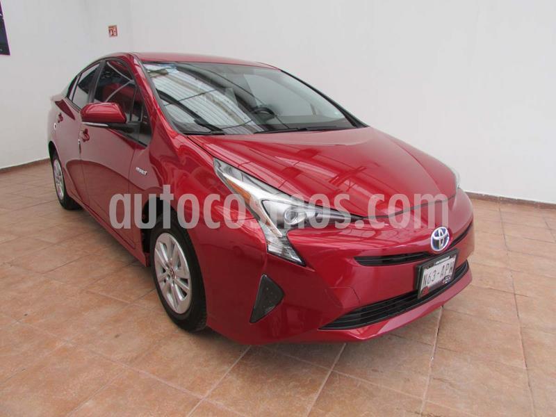 Toyota Prius Premium usado (2017) color Rojo precio $320,000