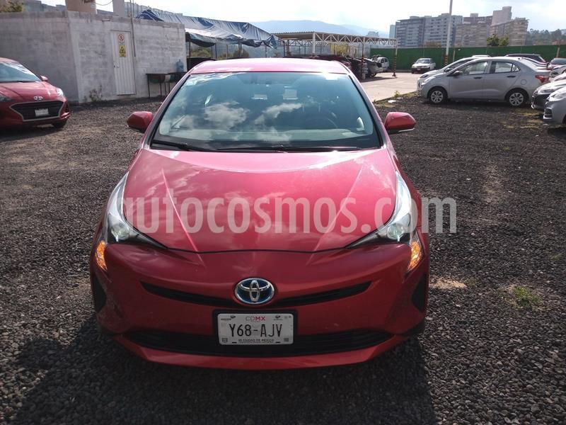 Toyota Prius BASE usado (2016) color Rojo precio $259,000