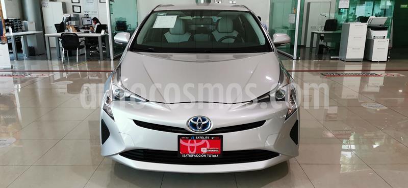 Toyota Prius Premium usado (2017) color Plata Metalico precio $279,000