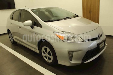Toyota Prius 5p Base Hibrido L4/1.8 Aut usado (2014) color Plata precio $189,000